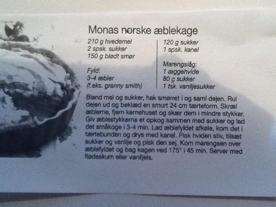 Monas æblekage